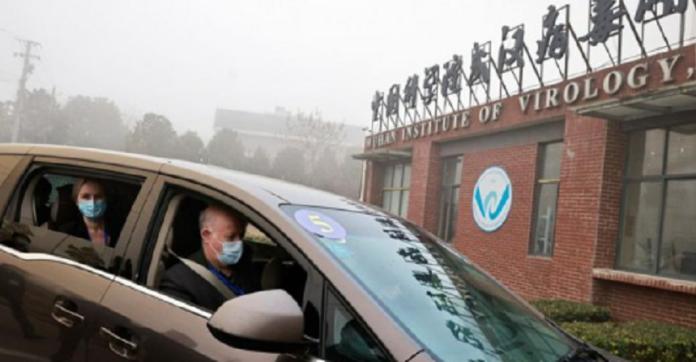 Echipa de anchetă OMS la Institutul de Virusologie din Wuhan Foto: Twitter